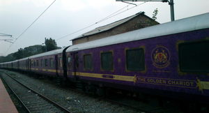 The Golden Chariot Train Will Give You Slice Of The Royal Life When You Travel Across Southern India