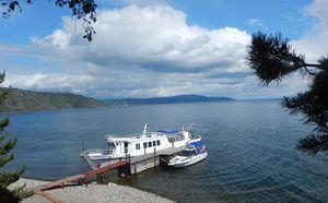 Lake Baikal and Listvyanka