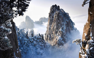 Hike in Heavenly Capital Mountain of China