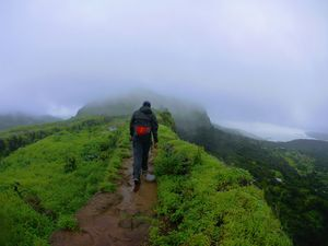 Bhaja Caves, Visapur Fort, and Lohagad Fort Trekking
