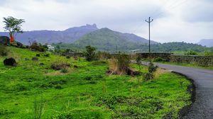 Irshlagad trek after first rain in this season
