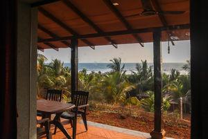 Property Review - Beaching It Out: Beachfront Villas Ganpatipule #BeachStaycation