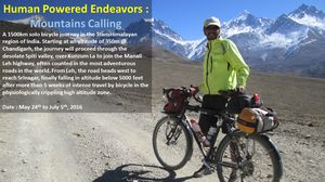 Ganesh Nayak: An engineer who quit his job to cycle around the Himalayas