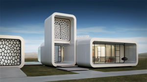 A glimpse of the first 3-D printed office in Dubai is unbelievable! Take a look.