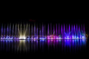 Sharjah lagoon Al Majaz - Khalid Lake Trail - Sharjah - United Arab Emirates 1/1 by Tripoto