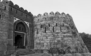 Title: Tughlaqabad Fort #BestTravelPictures  Theme: Architecture