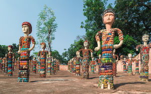 Title: Rock Garden, Chandigarh #BestTravelPictures  Theme: Architecture