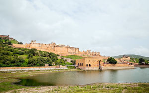 Title: Amer Fort #BestTravelPictures  Theme: Architecture