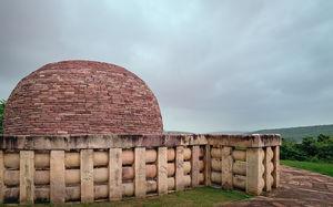 Title: Sanchi Stupa No. 2 #BestTravelPictures Theme: Architecture