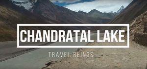 Chandratal Lake - A vlog