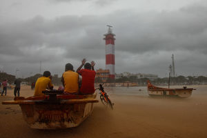 Tamil Nadu hit by cyclonic storm, Gaza