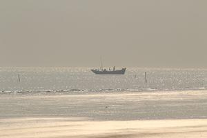 Serene and comparatively virgin beach in Bengal- Mandarmoni.