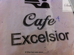 Cafe Excelsior - Parsi Food in the heart of Mumbai