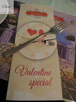 Sam's Valentines day- Restaurant Guide for Delhi / NCR