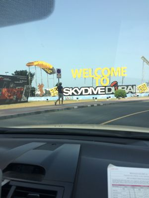 Skydive Dubai:live the fear and conquer it..:)