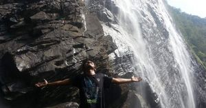 Jog falls - The falling/breathtaking miracle