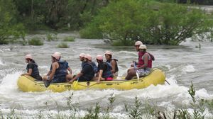 White water river rafting: Kolad