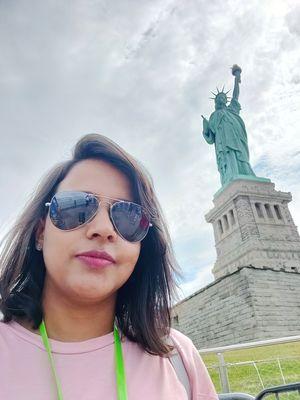 Lady Liberty #SelfieWithAView #TripotoCommunity