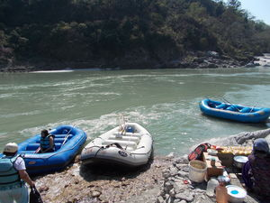 River Rafting : Rishikesh or Kullu