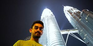 Perfect view of Petronas Towers #SelfiewithaView #Tripotocommunity