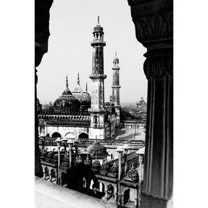 Perspective! The bada imambada, Lucknow.