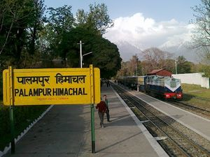 A joy ride from Palampur to Pathankot in the toy train:-)