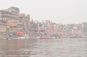 Ghats of Varanasi: Where chaos meets peace, soul meets spirituality and life meets death.