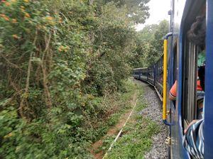 Toy train journey to Coonoor