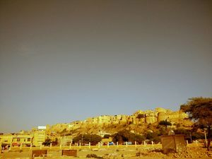 The historical Jaisalmer Fort