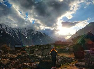 A paradise for wanderers: Chitkul
