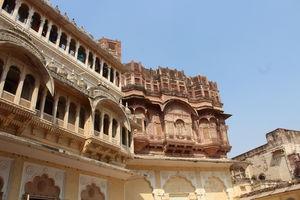 Intricate Designs of Mehrangarh Fort