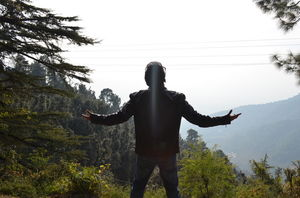 Mcleodganj over the Hill
