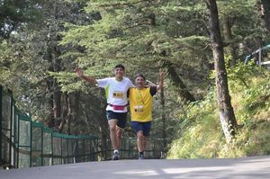 Weekend Trip to Majestic Shimla for running my first High altitude Half Marathon