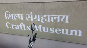 Crafts Museum-Pragati Maidan Delhi, quiet,cozy & historical place to visit.