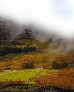 The majestic Scottish Highlands in autumn. #BestTravelPictures