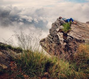 Mukteshwar - The cliff point