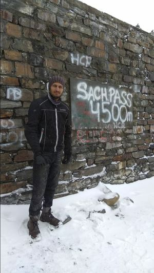 Ride to SACH PASS aka Daddy of all passes