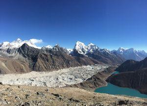 Trekking Gokyo Peak, Nepal
