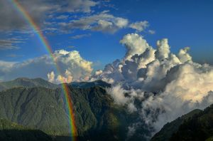 """Trek To Triund""- heavens on earth"