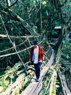 Life Changing Realisations When You Push Yourself Beyond The Limits | Trek to The living Root Bridge