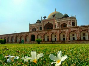 Humayun's Tomb: A great piece of Architecture