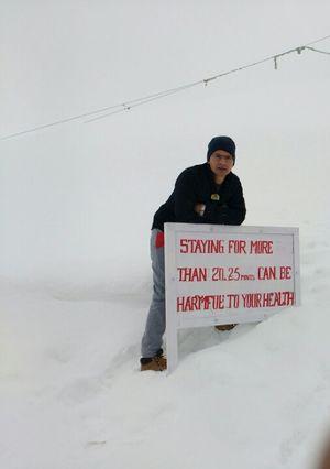 Top of the world: Khardungla Highest Pass