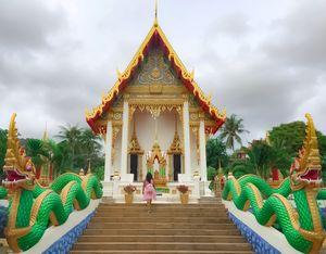 Wat Karon - Beautiful Buddhist Temple in Karon, Thailand #BestTravelPictures #BestTravelPicture