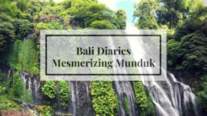 Munduk : An Unknown Paradise in Bali