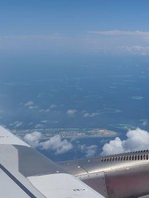 Maldives inside water