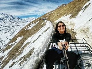 A self-planned Solo Travel of a girl through the Winter Spiti via Public Transport #learningholiday