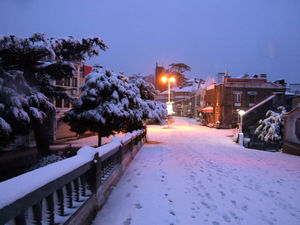Going to Shimla.. The amazing snow fall