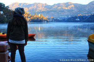 Bloggers Meetup at Naukuchitaal - The nine cornered lake
