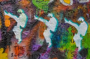 John Lennon Wall - Prague. For the fans of John Lennon