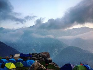 Triund- The Majestic Mountain